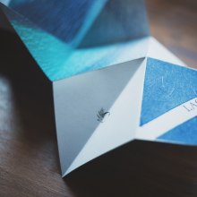 """Fanzine """"Lago"""". Un proyecto de Fotografía, Artesanía, Diseño editorial, Escritura, Papercraft, Encuadernación y Fotografía artística de Valentina Riveiro - 01.04.2019"""