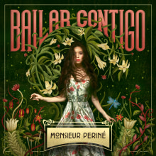 Bailar Contigo | Monsieur Periné. A Illustration, Graphic Design, and Lettering project by Cactus Taller Gráfico - 04.07.2018