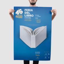 46 Edición Feria del Libro. A Design, Designverwaltung, Verlagsdesign, Grafikdesign, Icon-Design, Kreativität, Plakatdesign und Concept Art project by Bee Comunicación - 11.04.2019