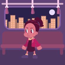 Girl VS Alien. Um projeto de Animação, Animação de personagens, Ilustração vetorial, Animação 2D e Videogames de Francisco Contreras - 12.04.2019