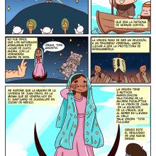 Infografía Virgen de Guadalupe . Un proyecto de Ilustración e Infografía de Andrés Ávila - 12.12.2018