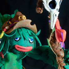 Escultura de personaje fantástico. Um projeto de Design de personagens e Escultura de Roselino López Ruiz - 21.04.2019