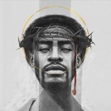 Jesus Preto (Black Jesus) . A Illustration, and Portrait illustration project by Cheo Gonzalez - 04.21.2019