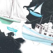 The Ghost People. Um projeto de Ilustração e Ilustração digital de Vero Navarro - 22.04.2019