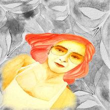 Anita. Un proyecto de Dibujo de Retrato y Dibujo artístico de Laura Bello - 23.04.2019