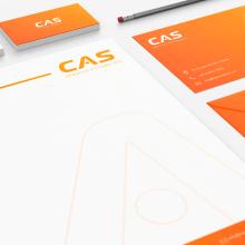 Branding CAS Automotriz. A Br, ing, Identit, Logo Design, and Graphic Design project by Rodrigo Pizarro - 04.18.2019