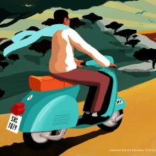SANCHEZ ROMERO CARVAJAL. Ilustración para packaging.. Un proyecto de Packaging e Ilustración digital de Juanma García Escobar - 26.04.2019