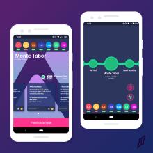 Metro App: Aplicación para el Metro de Santiago. A UI / UX project by Felipe Vilches Saavedra - 04.27.2019