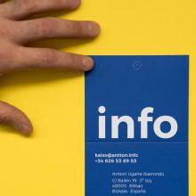 Cover letter. Un proyecto de Diseño gráfico de Antton Ugarte Ibarrondo - 30.04.2019