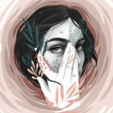 Huracán. Un proyecto de Ilustración, Ilustración digital e Ilustración de retrato de Beatriz Ramo (Naranjalidad) - 07.05.2019