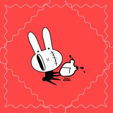 Proyecto Final: Identidad - Ugly Bunny (vectores). Un proyecto de Ilustración vectorial e Ilustración digital de Ludmila Jeanette Sosa - 08.05.2019