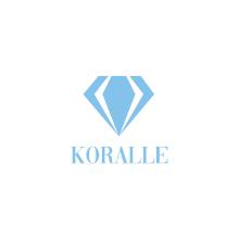 Diseño de logotipo para Joyería Koralle. Un proyecto de Br, ing e Identidad, Diseño gráfico y Diseño de logotipos de Miguel Camacho Gordaliza - 16.05.2019