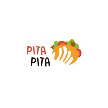 Diseño de logotipo para Kebab Pita Pita. Un proyecto de Br, ing e Identidad, Diseño gráfico y Diseño de logotipos de Miguel Camacho Gordaliza - 16.05.2019