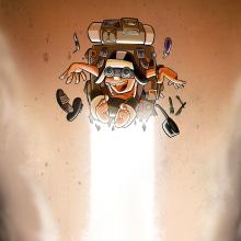 Personajes. Un proyecto de Ilustración, Diseño de personajes, Creatividad, Ilustración digital, Dibujo artístico e Ilustración infantil de Javier Sánchez Nagore - 17.05.2019