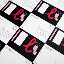 Postales HOLI. Um projeto de Design gráfico de Clara Briones Vedia - 17.05.2019