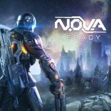 Nova Legacy. Um projeto de 3D, Direção de arte e Videogames de Francisco Pando - 20.09.2017