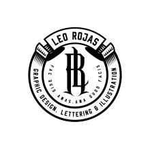 My project in Design Monograms with Style course. Un proyecto de Diseño gráfico, Tipografía y Lettering de Leo Rojas - 03.06.2019
