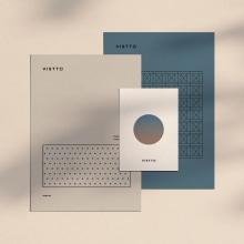 Vistto Estudio de Construcción. A Design, Br, ing und Identität, Grafikdesign, Naming und Icon-Design project by The Woork Co - 06.12.2018