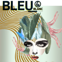 Revista Bleu & Blanc. A Collage & Illustration project by Zoveck Estudio - 03.19.2019