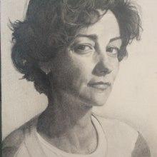 Mi Proyecto del curso: Retrato realista con lápiz de grafito. Un proyecto de Bellas Artes de Amparo Miguel Miquel - 21.06.2019