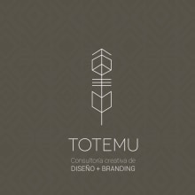 Mi Proyecto del curso: Totemu . Un proyecto de Br e ing e Identidad de Sarita Calle - 25.06.2019