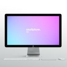 Skullpture. Un proyecto de Motion Graphics, Br, ing e Identidad, Diseño Web y Diseño de logotipos de Levulevú - 27.12.2018