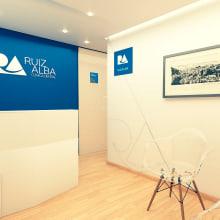 Clínica Ruiz Alba. Un proyecto de 3D, Arquitectura interior e Infografía de Levulevú - 25.06.2019