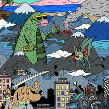 Ilustraciones . Un progetto di Illustrazione , e Graphic Design di INFOE Studio - 01.07.2019