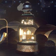 Mi Proyecto del curso: Animación de cortinillas de televisión con Motion Graphics. Un proyecto de Cine, vídeo, televisión, 3D, Animación, Televisión, Animación 3D y Realización audiovisual de Pablo Ballester - 24.06.2019