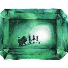El Mago de Oz. Un proyecto de Ilustración infantil de Goretti Pérez - 07.07.2019