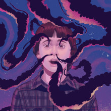 Ilustracion para campaña de Stranger Things. Un proyecto de Ilustración de German Gonzalez Ramirez - 07.07.2019