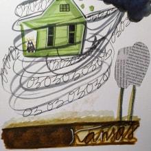 EL MARAVILLOSO MAGO DE OZ. Un proyecto de Ilustración infantil de anna castaña - 08.07.2019