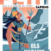 Illustrations for the magazine Petit Sapiens. Un proyecto de Ilustración de Albert Pinilla Ilustrador - 09.07.2019