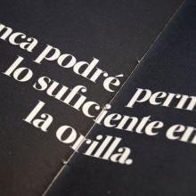 Diseño y Encuadernación de Poemario. A Verlagsdesign, Grafikdesign und Buchbinderei project by Clau Rodríguez Costas - 12.07.2019