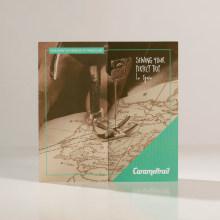 CARAMELTRAIL: Campaña publicitaria. Un proyecto de Publicidad, Br, ing e Identidad, Diseño editorial, Diseño gráfico y Diseño de carteles de Bárbara Pérez Muñoz - 13.07.2019