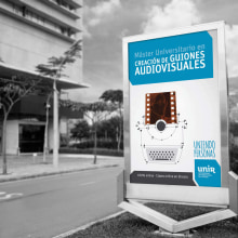 UNIR: Publicidad. Un proyecto de Publicidad, Dirección de arte, Diseño editorial, Diseño gráfico y Diseño de logotipos de Bárbara Pérez Muñoz - 13.07.2019