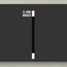 EL VINO MÁGICO: Naming, Branding, Packaging. Un proyecto de Publicidad, Dirección de arte, Br, ing e Identidad, Diseño gráfico, Packaging, Naming y Diseño de logotipos de Bárbara Pérez Muñoz - 13.07.2019