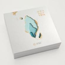 Packaging Agua fuente de Vida de Secretos del Agua. A Illustration, Grafikdesign, Verpackung und Videobearbeitung project by Meteorito Estudio - 01.01.2019