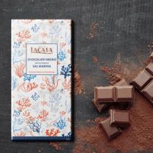 Diseño Pattern Chocolate con un toque de sal marina. Un proyecto de Ilustración y Packaging de Jokin de Cerio - 21.11.2018