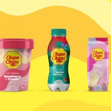 Chupa Chups (Packaging). Un proyecto de Br, ing e Identidad, Packaging y Pattern Design de Vibranding - 18.07.2019