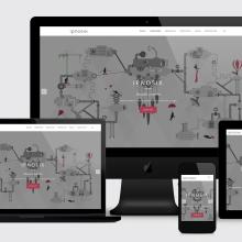Ipnosix: Web. Un proyecto de Br, ing e Identidad, Diseño gráfico, Diseño Web y Desarrollo Web de Bárbara Pérez Muñoz - 20.07.2019