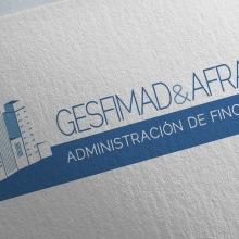 GESFIMAD & AFRA: Branding, Editorial. Un proyecto de Publicidad, Dirección de arte, Br, ing e Identidad, Diseño editorial, Diseño gráfico y Diseño de logotipos de Bárbara Pérez Muñoz - 12.07.2019