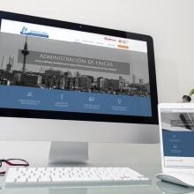 GESFIMAD & AFRA: Web. Un proyecto de Dirección de arte, Diseño gráfico, Diseño Web y Desarrollo Web de Bárbara Pérez Muñoz - 20.07.2019