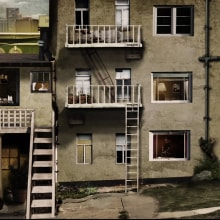 Video Collage - Videoclip PRESUMIDO - Soñar A La Carta . Un proyecto de Animación, Collage y Vídeo de Paco Serén - 25.07.2019