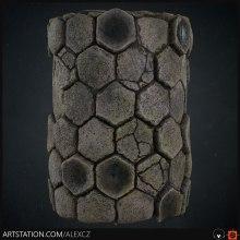 Mi Proyecto del curso: Introducción a la creación de texturas con Substance Designer. Un progetto di 3D , e Videogiochi di Alexander Campos - 25.07.2019