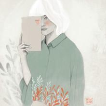 Mi Proyecto del curso: Retrato con lápiz, técnicas de color y Photoshop. Un progetto di Illustrazione e Illustrazione di ritratto di Eva Uviedo - 31.07.2019