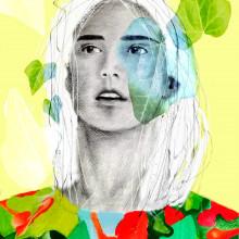 Mi Proyecto del curso: Retrato con lápiz, técnicas de color y Photoshop. Un proyecto de Ilustración digital e Ilustración de retrato de Laura Bello - 01.08.2019