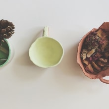 Ceramica hecha con amor. A Crafts, and Ceramics project by Viviana Rojas Burgos - 08.02.2019