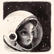 Anna Lee Tingle Fisher. Un projet de Illustration et Illustration numérique de Gemma Román - 02.03.2019