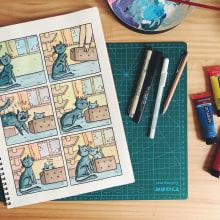 Mi Proyecto del curso: Introducción a la psicología del color: la narrativa cromática. Un proyecto de Ilustración de Cynthia Hierro García - 11.08.2019